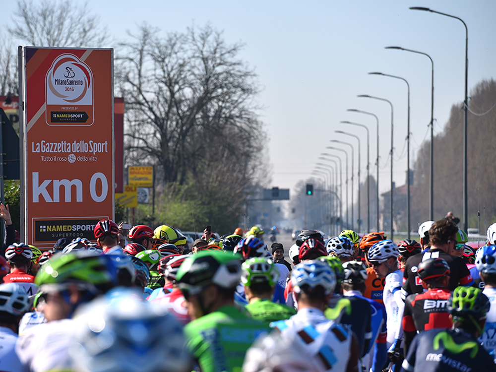 Milan San Remo Cycling Race