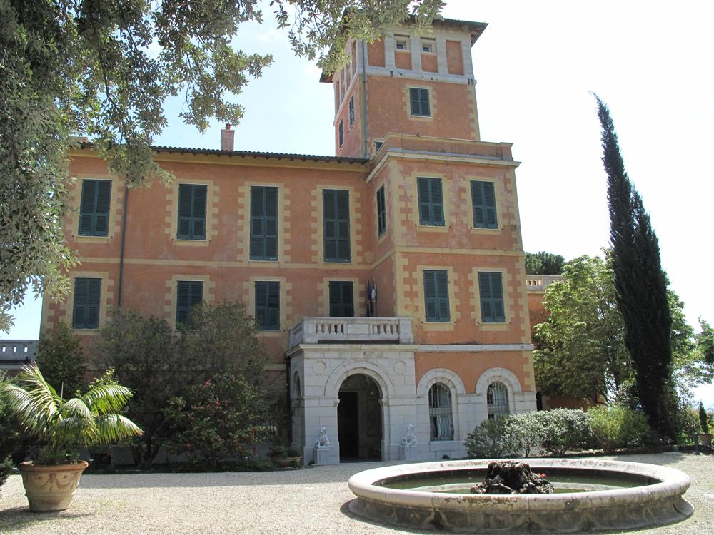The Botanical Garden of Villa Hanbury