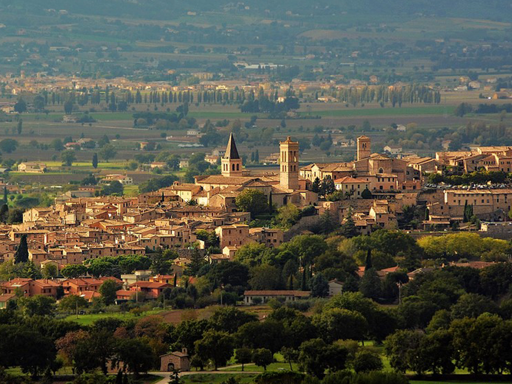 Authentic Provence Town of Spello